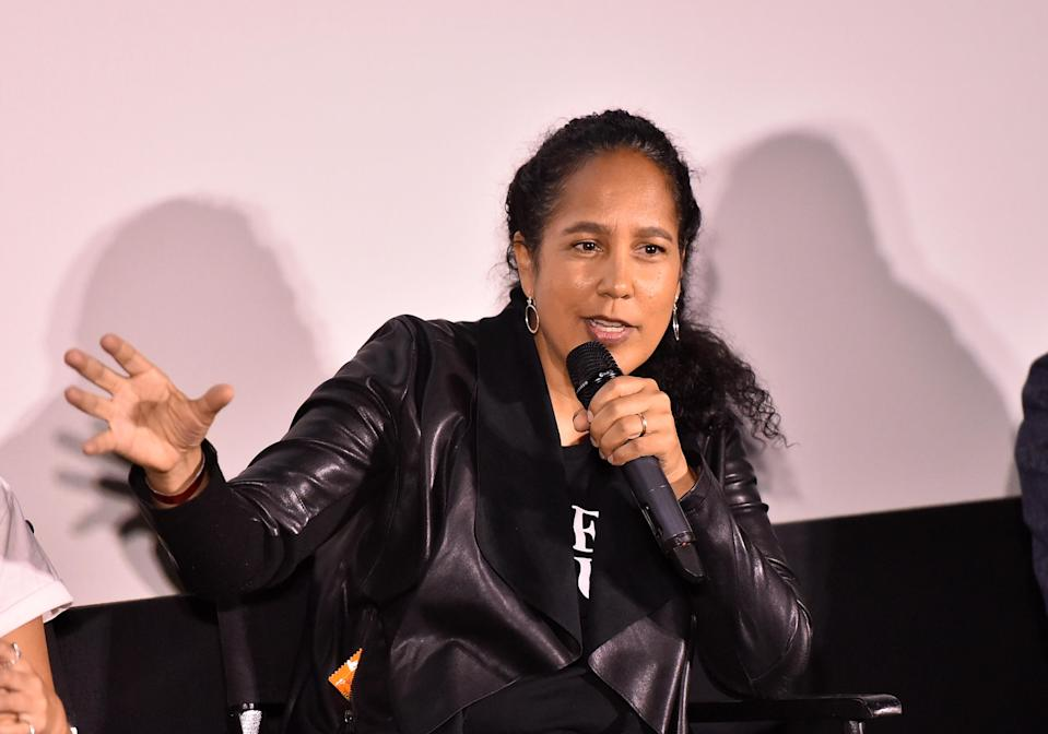 """WEST HOLLYWOOD, CA - MAY 31: Director Gina Prince-Bythewood attends Freeform And The NAACP Host A Screening For Marvel's """"Cloak & Dagger"""" at The London Hotel on May 31, 2018 in West Hollywood, California. (Photo by Alberto E. Rodriguez/Getty Images)"""