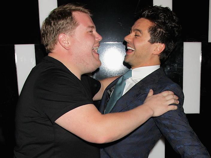 Dominic Cooper James Corden 2011 Getty Imagea
