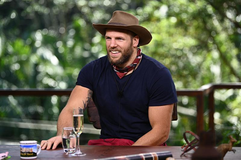 James was voted out of the jungle on Tuesday night (Photo: ITV/Shutterstock)