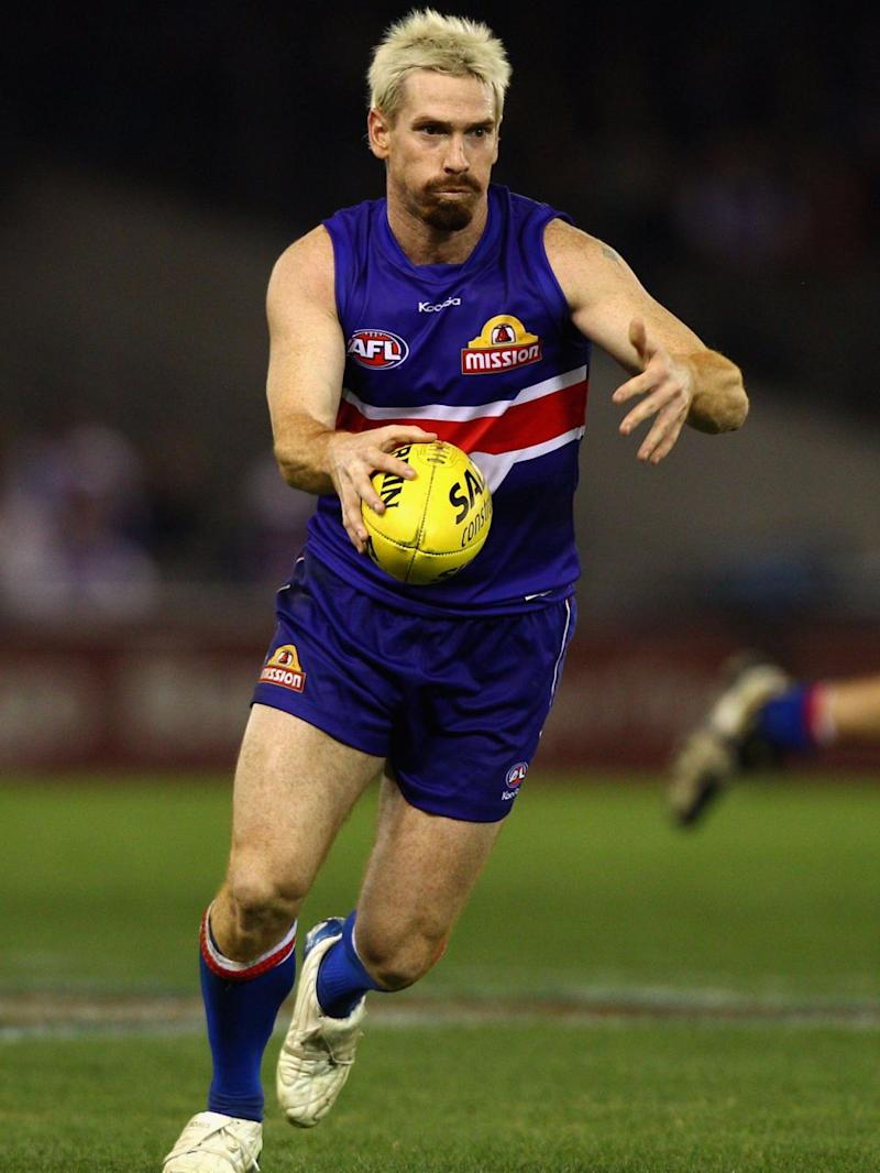 Footie player Jason Akermanis's signature look is very much like Shane's new style. Source: Getty