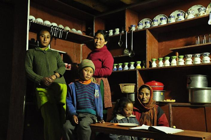 Homestays of India has on-boarded more than 110 houses across 21 towns, including from Himalayan regions and the northeast of India. Picture shows one of the homestays on the platform, along with the family that runs it.