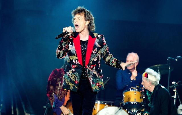 <p>The Stones are likely to win for <i>Blue & Lonesome</i>. This would be the legendary band's third Grammy win — and their first in 23 years. They took Best Rock Album and Best Music Video, Short Form for 1994. (Photo: David Wolff – Patrick/Redferns ) </p>