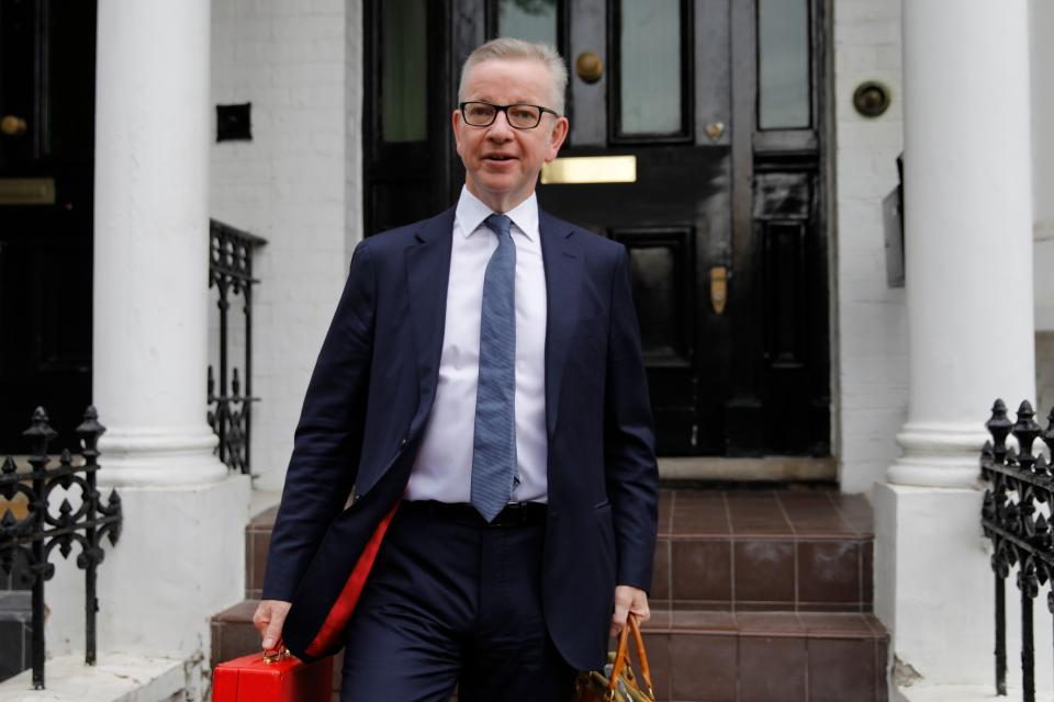 Michael Gove, who has admitted taking cocaine (Photo credit should read TOLGA AKMEN/AFP/Getty Images)