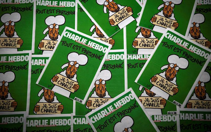 Peter Cherif was named in the enquiry into the attack on satirical French magazine Charlie Hebdo - AFP