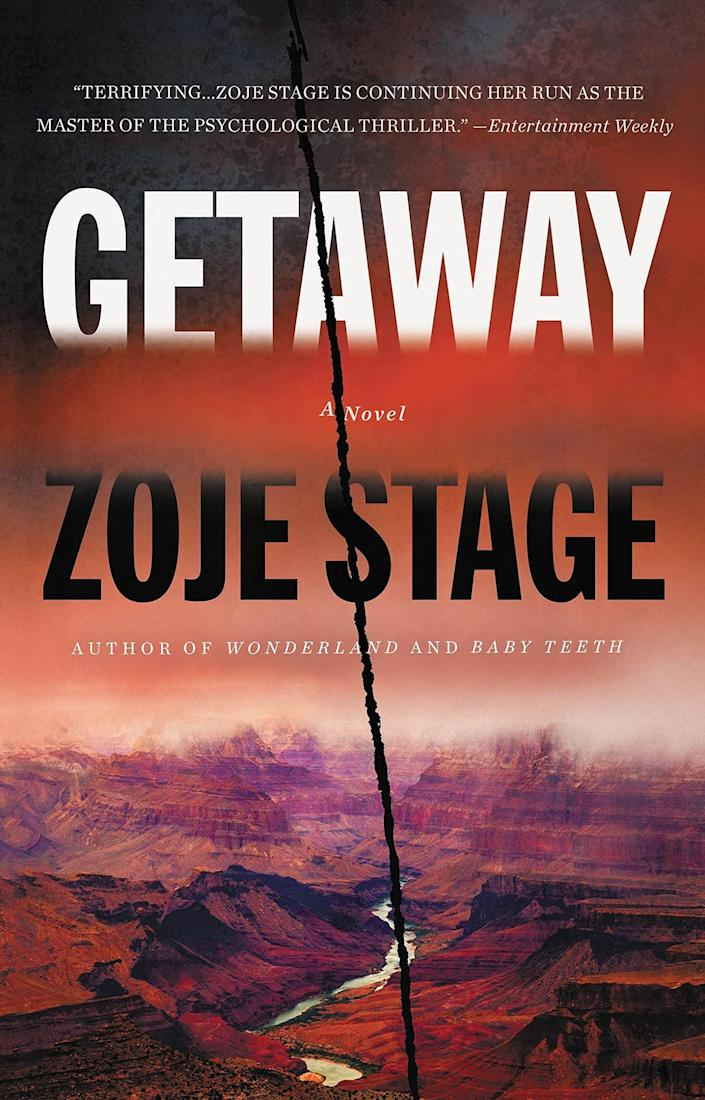 <p>Zoje Stage, the author of <strong>Baby Teeth</strong>, returns with another chilling thriller that will definitely make you lose sleep at night. In <span><strong>Getaway</strong></span>, three friends leave the world behind as they set off on a hike through the Grand Canyon. But they don't get very far before secrets and long-simmering animosities bubble to the surface. </p> <p><em>Out Aug. 17</em></p>