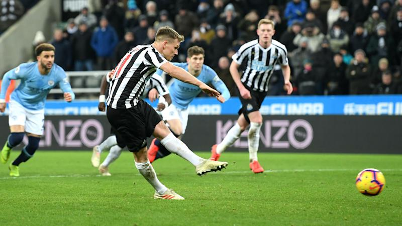 Newcastle United 2 Manchester City 1: Champions suffer shock loss to spoil Guardiola's landmark