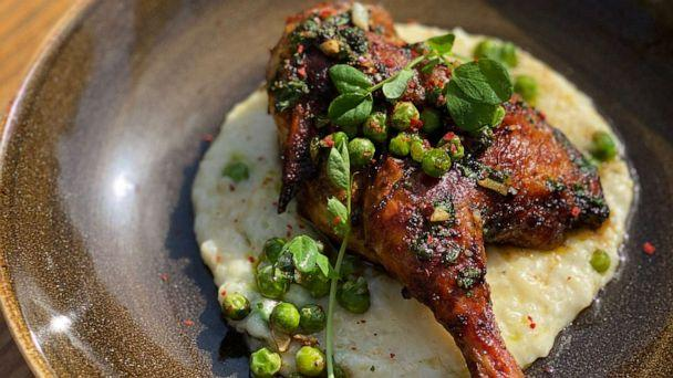 PHOTO: Berbere spiced hen. (The Franky Collective)