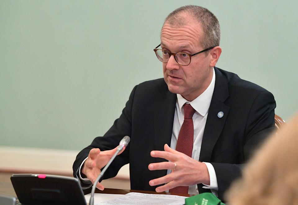 WHO Europe director Hans Kluge has warned of the threat of the Delta variant in Europe. (Getty)