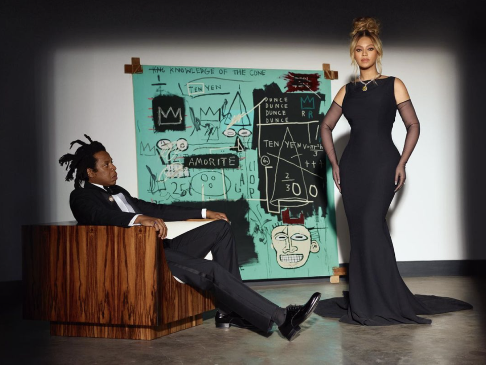 Beyonce and Jay-Z star in Tiffany & Co.'s latest campaign. (PHOTO: Tiffany & Co.)