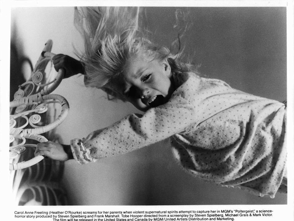 <p>This year saw the release of two terrifying movies that became horror classics: <em>The Poltergeist</em> and <em>The Thing</em>. </p>