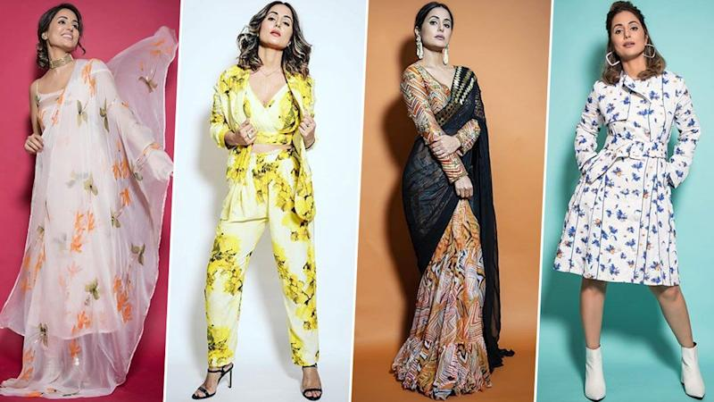 Hina Khan Look Book for Bigg Boss 14: Smart, Quirky and Loaded with Oodles of Glamour, Her Style Shenanigans are Jaw-Dropping (View Pics)
