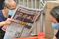 Hong Kong's Apple Daily has long been a thorn in Beijing's side, a regular source of support for the pro-democracy movement and criticism of China's authoritarian leader