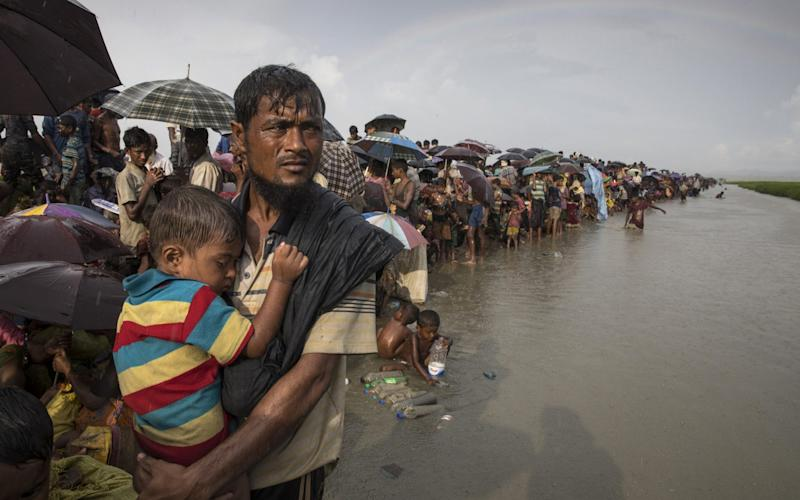 Hundreds of thousands of refugees have fled Burma in the past year - Getty Images AsiaPac