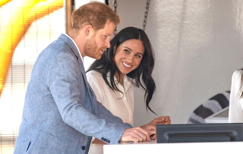 Prince Harry and Meghan Markle | MICHELE SPATARI/AFP via Getty Images