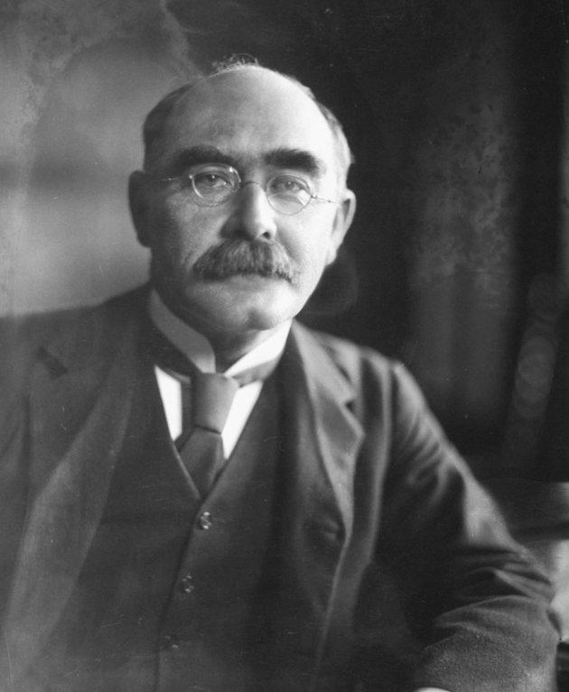 British author and poet Rudyard Kipling