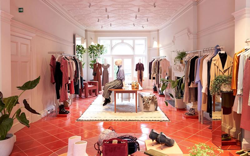 MatchesFashion's social shopping hub in Mayfair; 5 Carlos Place