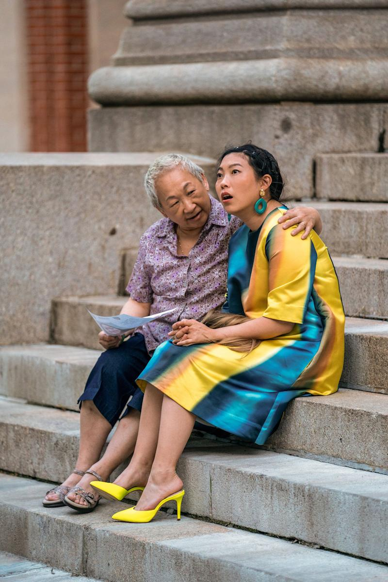 Grandmother knows best: Chinn guides Nora (Awkwafina) through her quarterlife crisis | Comedy Central