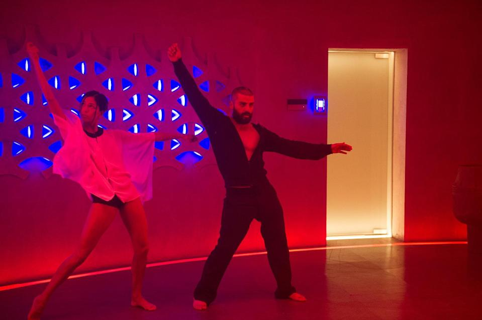 Oscar Isaac plays a reclusive tech-genius in 'Ex-Machina'. (Universal Pictures)