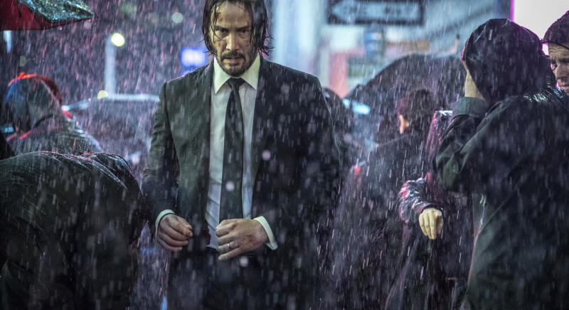 Review: In 'Parabellum,' John Wick is on the run again