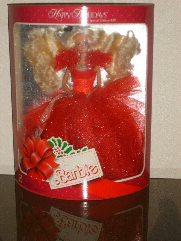 """<p>The iconic Happy Holidays Barbie collectible series was introduced by Mattel in 1988. If you're on the market for <a href=""""https://www.ebay.com/itm/1988-HAPPY-HOLIDAYS-BARBIE-1ST-IN-COLLECTIBLE-SERIES-by-Mattel/283551307314?hash=item4204f99632:g:UGwAAOSwVVFdXHwp"""" rel=""""nofollow noopener"""" target=""""_blank"""" data-ylk=""""slk:$2,000"""" class=""""link rapid-noclick-resp"""">$2,000</a> stocking stuffers, this is a viable option. </p>"""