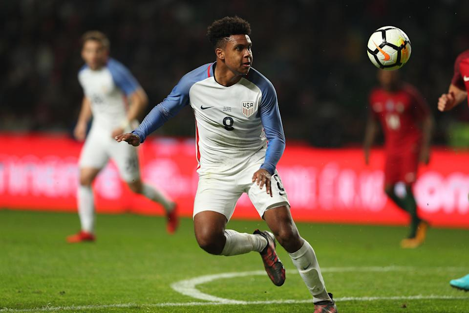 Weston McKennie made his U.S. debut in November against Portugal, and should be one of the leaders of the USMNT's rebirth. (Getty)