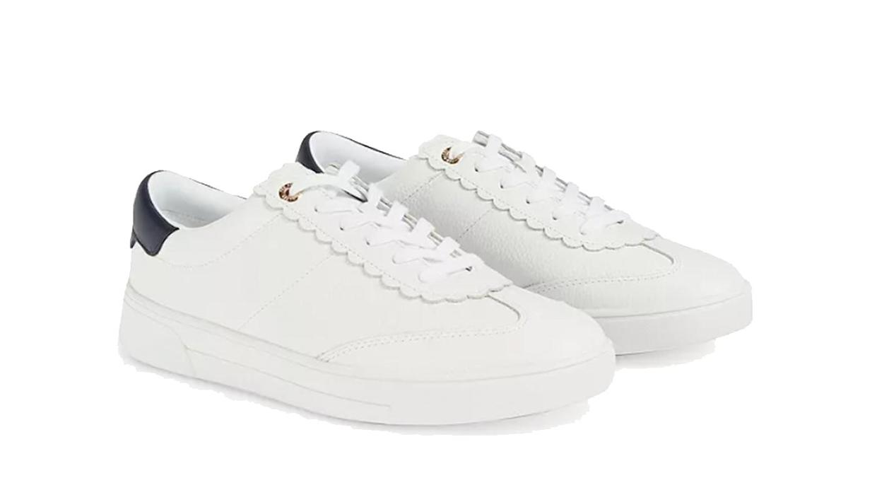 Ted Baker Ebby Leather Lace Up Trainers