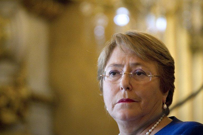 Chile's Bachelet asks forgiveness from indigenous Mapuche