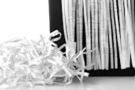 """""""You probably only have one or two pieces of mail that are actionable"""" in every batch, says McCubbin. To quickly separate the things that need your attention from those that don't, open your mail every single day—and do so over a shredder, immediately disintegrating anything that's not pertinent."""