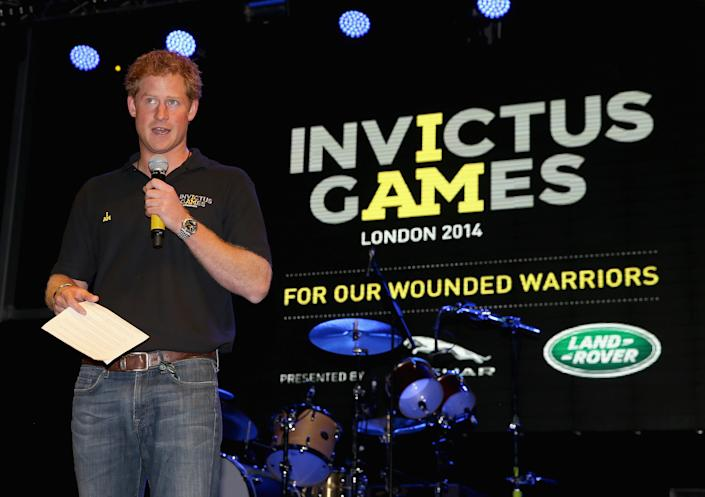 Harry set up the Invictus Games and the first event was held in 2014. (Getty Images)