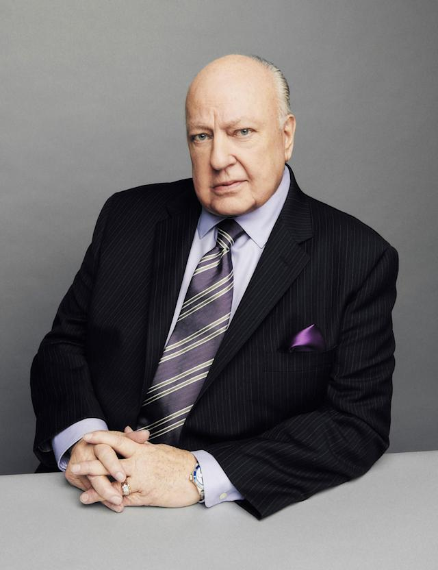 <p>Fox News chairman and CEO Roger Ailes on Nov. 13, 2015, at the network's Manhattan headquarters. (Photo: Wesley Mann/Fox News via Getty Images) </p>