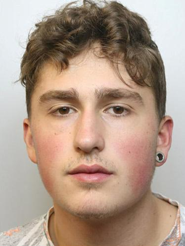 Callis-Woolsey's co-defendant Kyle Cullan (pictured) was jailed for 12 months after admitting conspiracy to rob. (Picture: SWNS)