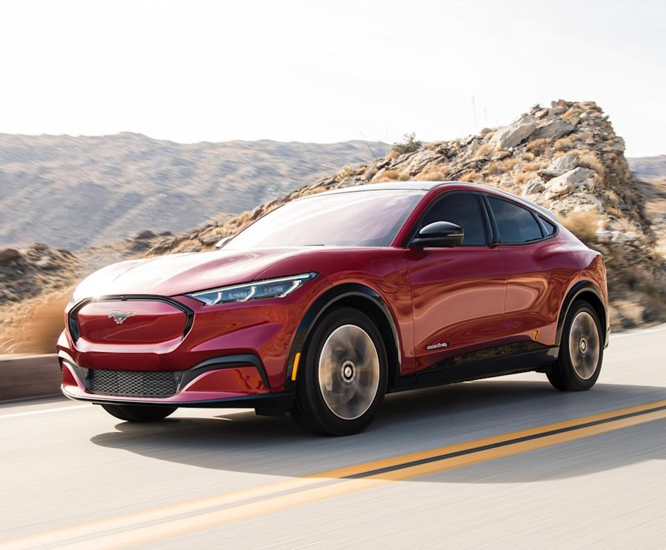 The Mustang Mach-E will be one of Ford's most consequential vehicle in recent history, serving as the company's jumping off point for mass market EV success. (Image: Ford)