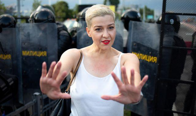 Maria Kolesnikova: Prominent Belarus opposition leader detained on Ukraine border