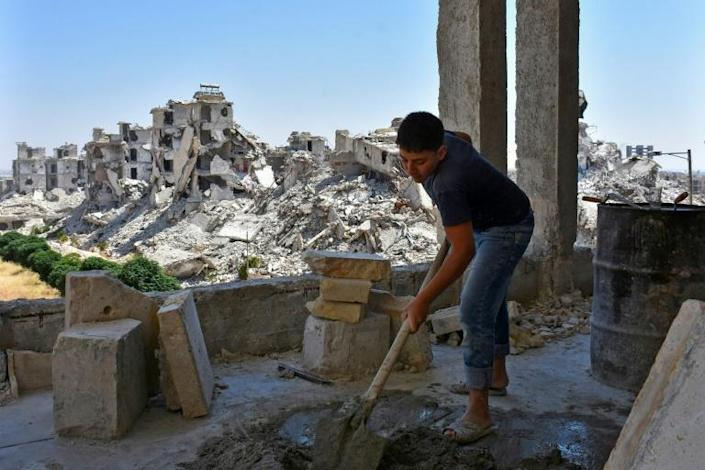 Much of Syria remains in ruins after nine years of war