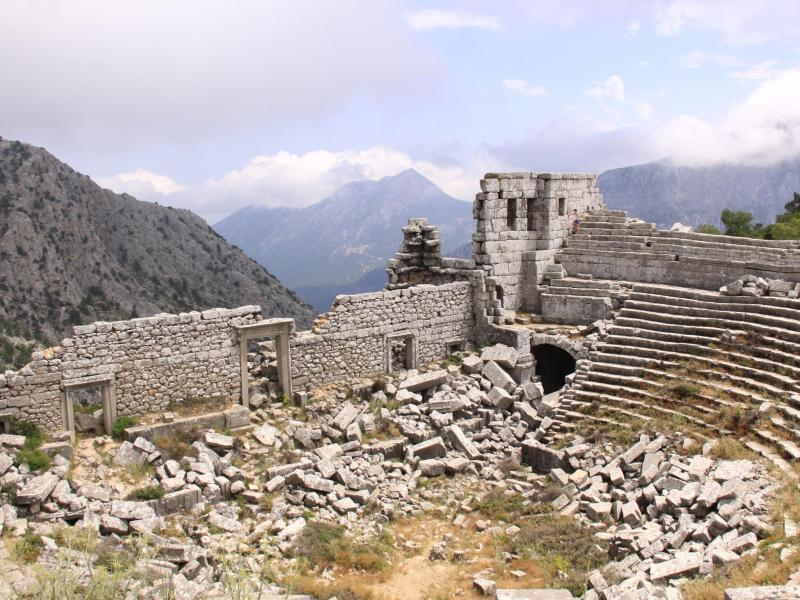 Termessos was one of the few places Alexander failed to conquer (Getty)