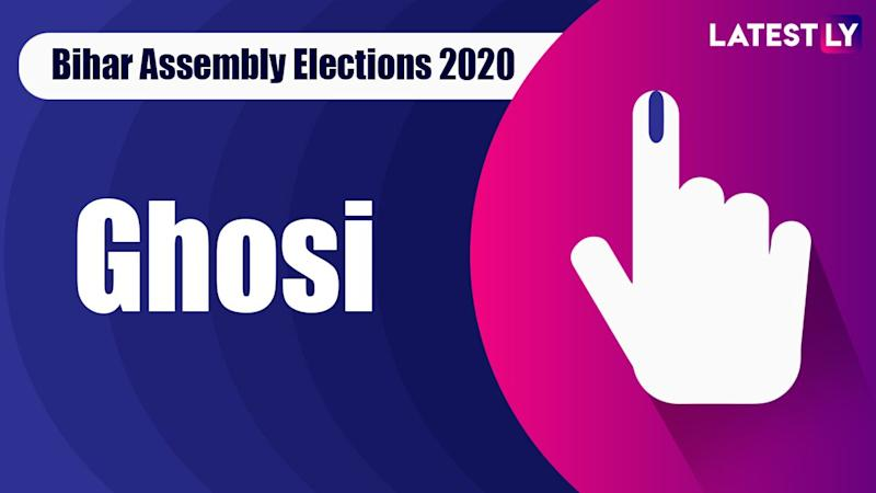Ghosi Vidhan Sabha Seat in Bihar Assembly Elections 2020: Candidates, MLA, Schedule And Result Date