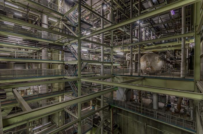 <p>He loves to photograph former industrial locations. (Photo: Freaktography/Caters News) </p>