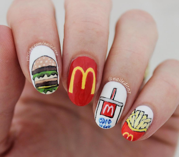 For the love of Maccas. Photo: naileditnz/Instagram