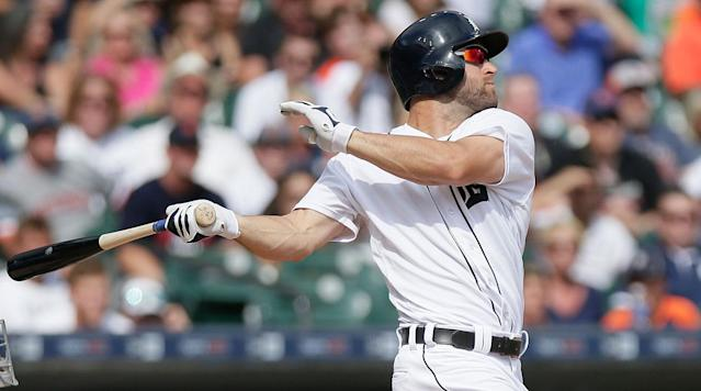 After a quiet winter in which their biggest move was to trade outfielder Cameron Maybin to the Angels, the Tigers' regular lineup features eight righthanded batters and switch-hitter Víctor Martínez.