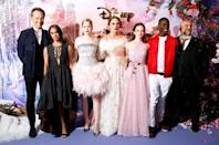 <p>The actress also said that her three-year-old might be too scared of her new film which revisits The Nutcracker fable.</p>