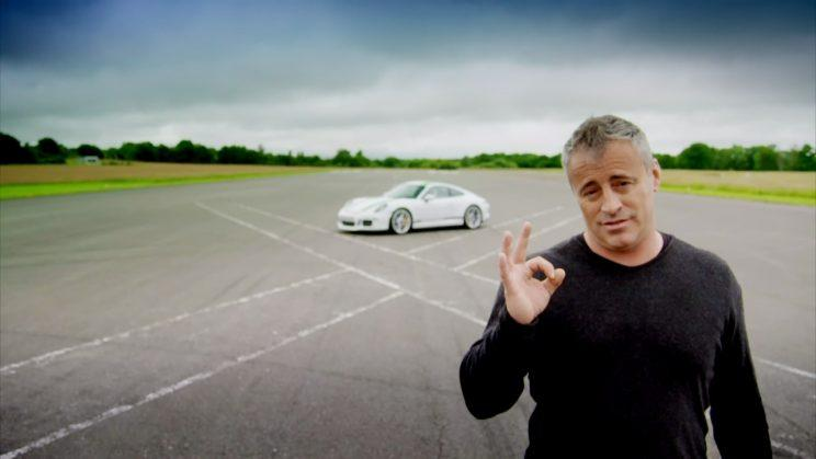 Matt LeBlanc with the Porsche 911R on the sixth and final edition of the revamped Top Gear. Broadcast on BBC2 HD: WENN