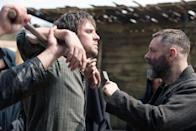 """<p>2018's <strong>Apostle</strong> is a strange and stressful movie. Dan Stevens and Michael Sheen star opposite on another as a man in search of his missing sister and the preacher who is leading her troubling new community. </p><p><a href=""""https://www.netflix.com/title/80158148"""" class=""""link rapid-noclick-resp"""" rel=""""nofollow noopener"""" target=""""_blank"""" data-ylk=""""slk:Watch  Apostle  on Netflix now."""">Watch <strong> Apostle </strong> on Netflix now.</a></p>"""