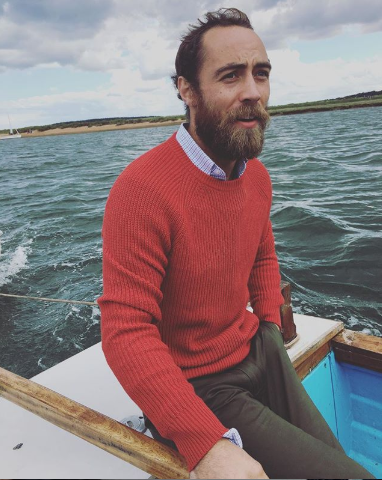 <p>Looking rugged out on the water. </p>