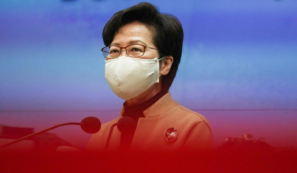 Hong Kong leader Carrie Lam. Photo: Jonathan Wong