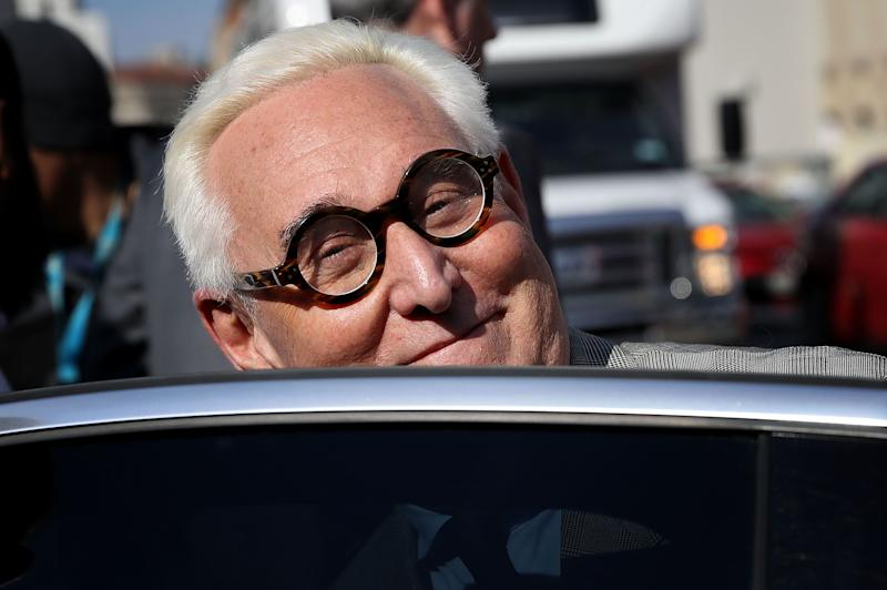 Roger Stone tells court he alone is entitled to see the Mueller report