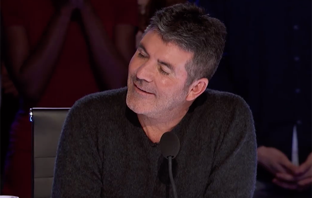 The judges, including Simon Cowell, couldn't believe the girl's voice. Photo: Facebook