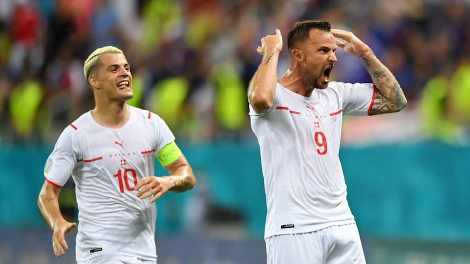 Seferovic esulta | Justin Setterfield/Getty Images