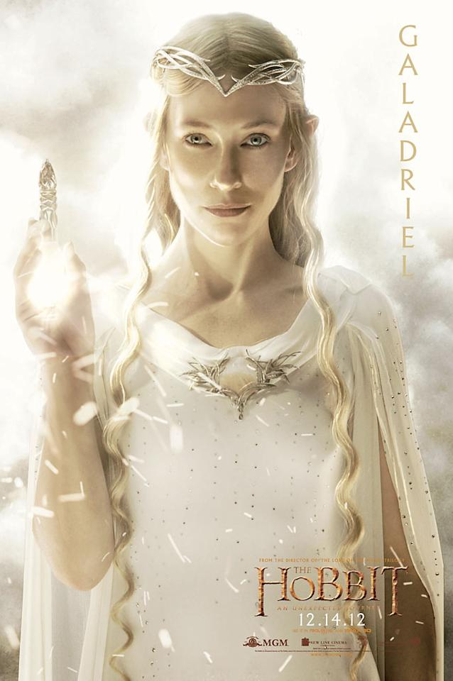 "Cate Blanchett as Galadriel in New Line Cinema's ""The Hobbit: An Unexpected Journey"" - 2012"