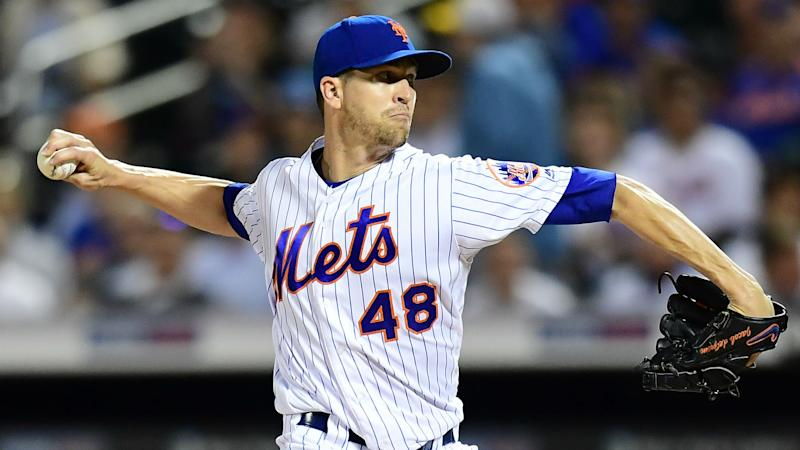 Mets ace deGrom to have MRI on back