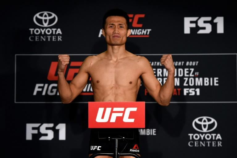 Chan joined the UFC in 2011 after starring on the domestic scene in South Korea